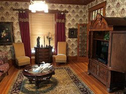 Parlor off of the main entry