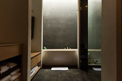 Book directly with us because you'll be in an impossibly stylish bathroom; www.originubud.com