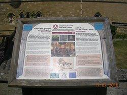 St. Michael's Church Information Board (Aberystwyth)