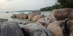 Rocks Around The Beach