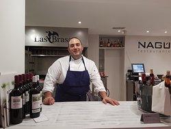 Os presentamos a Jaime, el jefe de cocina y alma del restaurante Nagú