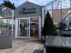 The Lavender Tearoom, Conwy Garden World, Glan Conwy