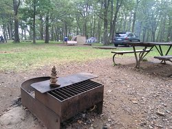 Great camping spot, beautiful scenery and wildlife