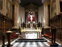 Bernardine Church - chancel