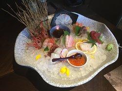 Sashimi plate 1