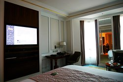 The 5-star luxurious Hotel Intercontinental Singapore