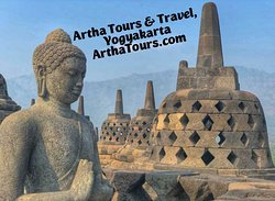 Borobudur Sunrise #first with Artha Tours, Yogyakarta!