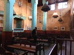 Interior of Aben Danan Synagogue, Fes, Morocco