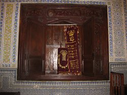 Holy Ark, Aben Danan Synagogue, Fes, Morocco