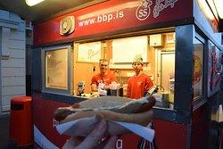 Nice hot dog!