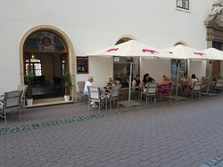 outside - seating at the street