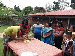 Birth day celebration of little  Krithika... ;)