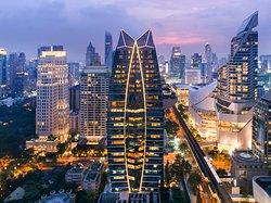 The Okura Prestige Bangkok,located in the heart of the city on Wireless Rd.