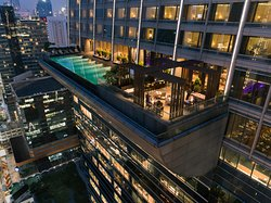 Elements, Michelin-starred restaurant, located on the 25th floor.