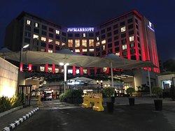 Extremely well run international JW Marriott Property...My global favorite