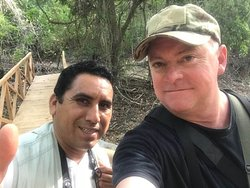Me and Cornelio at Cornelio's Nature Preserve/Property