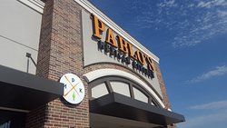 Pablo's from the outside- it's in the corner of a strip mall