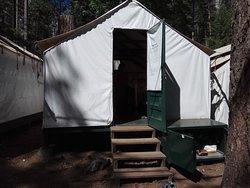 Buen camping en Yosemite