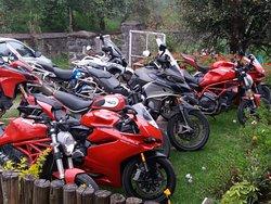 Riders paradise.... Hammock home stays