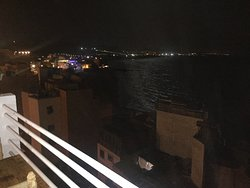 Rooftop view by night