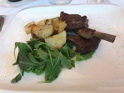 Déjeuner en terrasse après la galerie Borghese