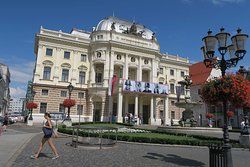 The old Slovak National Theater