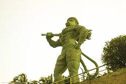 Ezhimala Hanuman Statue