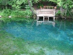 Big blue lake, Kazan, Russia