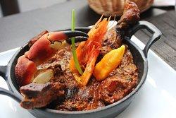 le traditionnel bouillon d'awara disponible tous les week-ends!