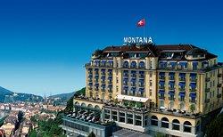 Art Deco Hotel Montana Luzern