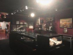 Room with some very strange exhibits