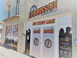 La Boussole, Live Escape Game.