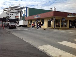 We are located steps away from cruise ships!
