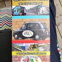 Cab Tours Belfast