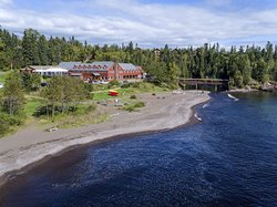 Lutsen Resort on Lake Superior