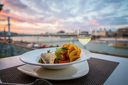 Great view, great food with great service - Rudas Bistro