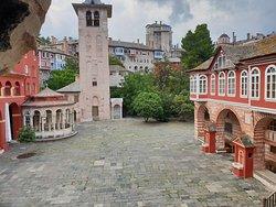 Batopedi Monastery in Mt Athos