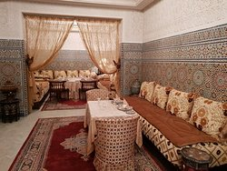 A genuine maroccan restaurant in Agadir