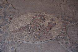 one of the mosaics at Bet Alfa