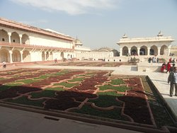 View of Anguri Bagh inside Agra Fort