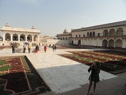 Inside premises of Anguri Bagh