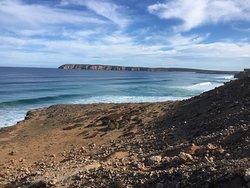 One of the many views around Venus Bay SA