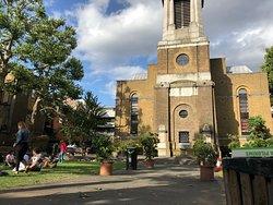 St Anne's Churchyard,