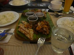 "Filipino food at ""the Nest"""