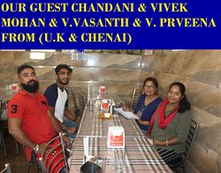 OUR GUEST FROM (CHENNAI)