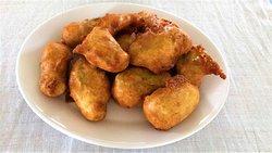 fried zicchini flowers