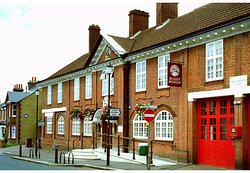 Bushey Museum and Art Gallery. It  tells the story of Bushey and its unique artistic history.