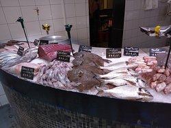 Etal de la poissonnerie