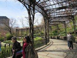 Sector de glorietas con vistas a los jardines.