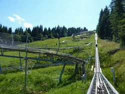 SCHLITTE MOUNTAIN luge sur rail